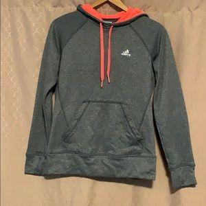 Adidas- Gray hoodie